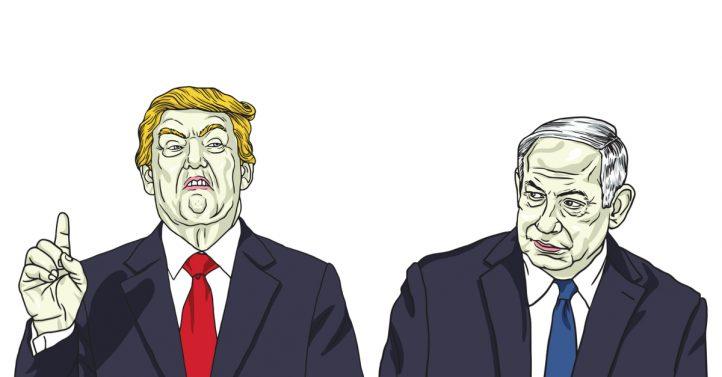 donald-trump-bibi-benjamin-netanyahu-israel