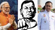 narendra-modi-rodrigo-duterte-thailand-junta-coup-elections