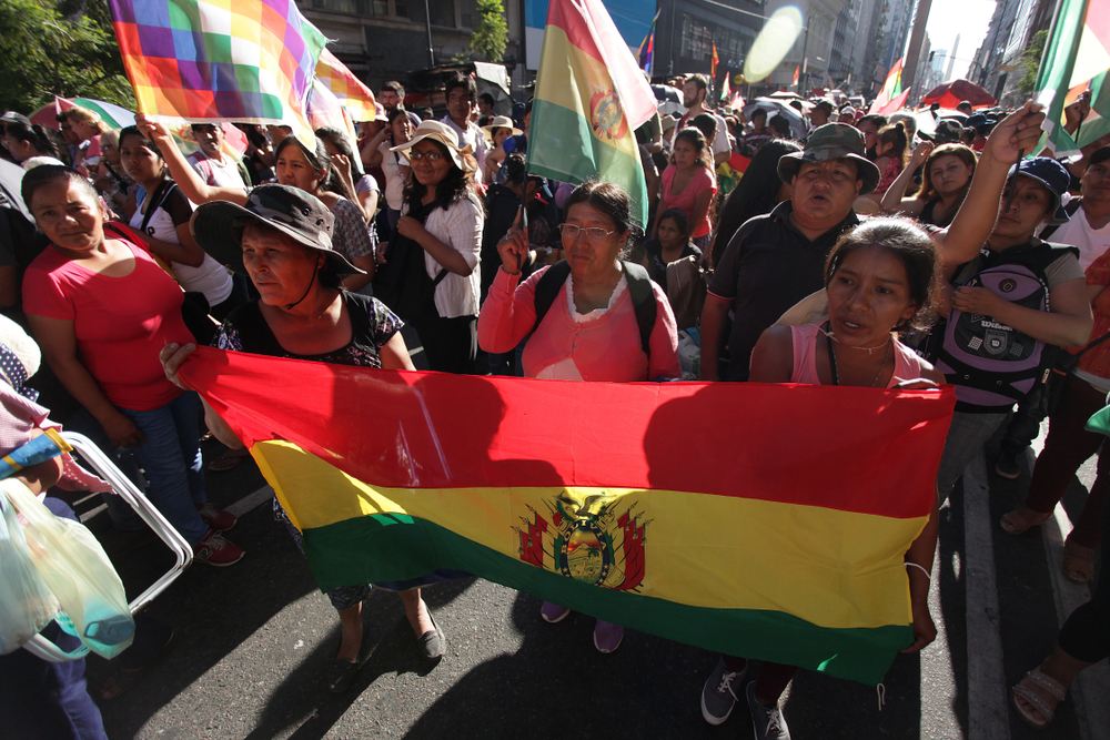 What's Happening In Bolivia Is a Violent Right-Wing Coup